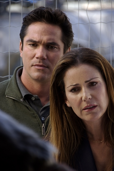 Dean Cain and Peri Gilpin in Crossroads: A Story of Forgiveness (2007)