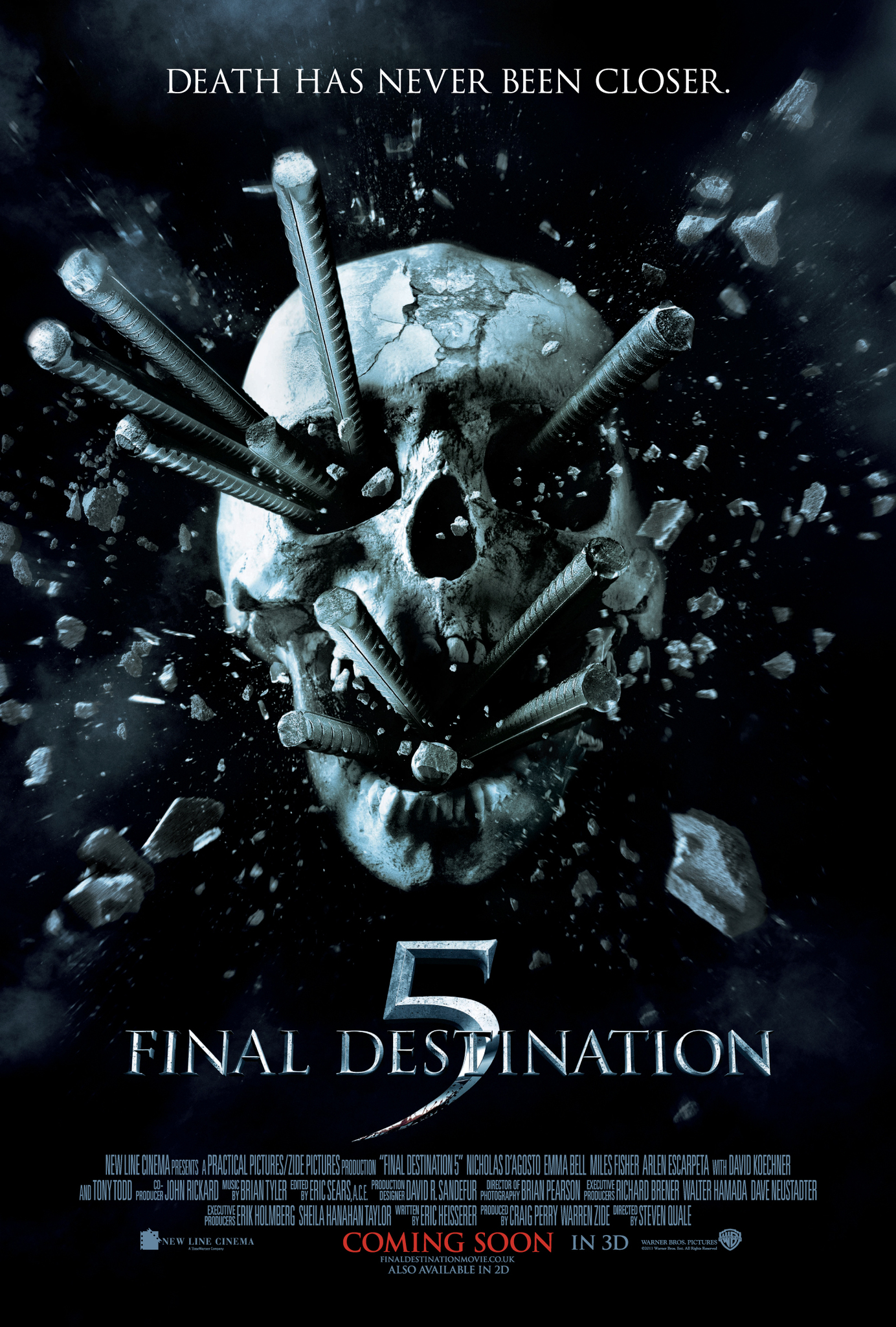 Download final destination 5 (2011) yify torrent for 1080p mp4.