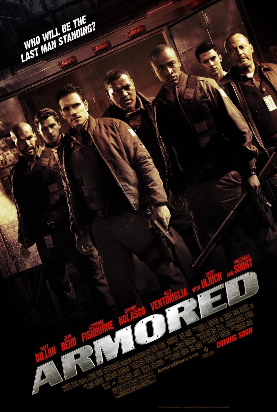 Armored (2009) Hindi Dubbed