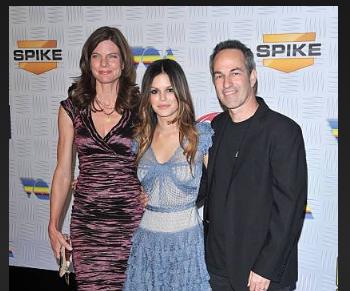 Danny Bilson, Heather Medway, and Rachel Bilson