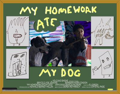 my doggy ate my homework