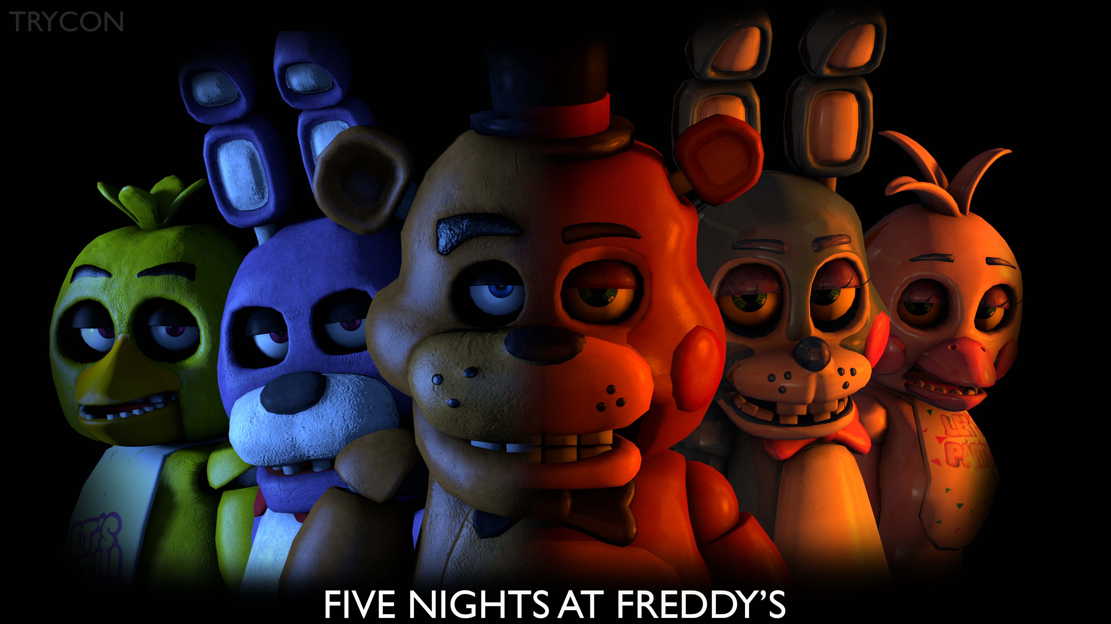 Vennori Lets Play Five Nights At Freddys