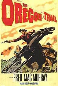 Fred MacMurray and Nina Shipman in The Oregon Trail (1959)