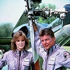 """Airwolf"" Jean Bruce Scott, Jan-Michael Vincent 1985 CBS"