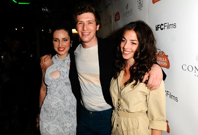 Daryl Wein, Zoe Lister-Jones, and Olivia Thirlby at an event for Breaking Upwards (2009)