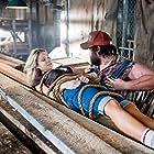 Tyler Labine and Katrina Bowden in Tucker and Dale vs Evil (2010)