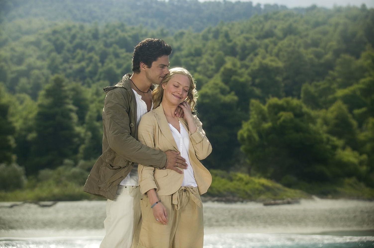 Dominic Cooper and Amanda Seyfried in Mamma Mia! (2008)