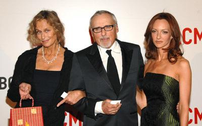 Dennis Hopper, Lauren Hutton, and Victoria Duffy