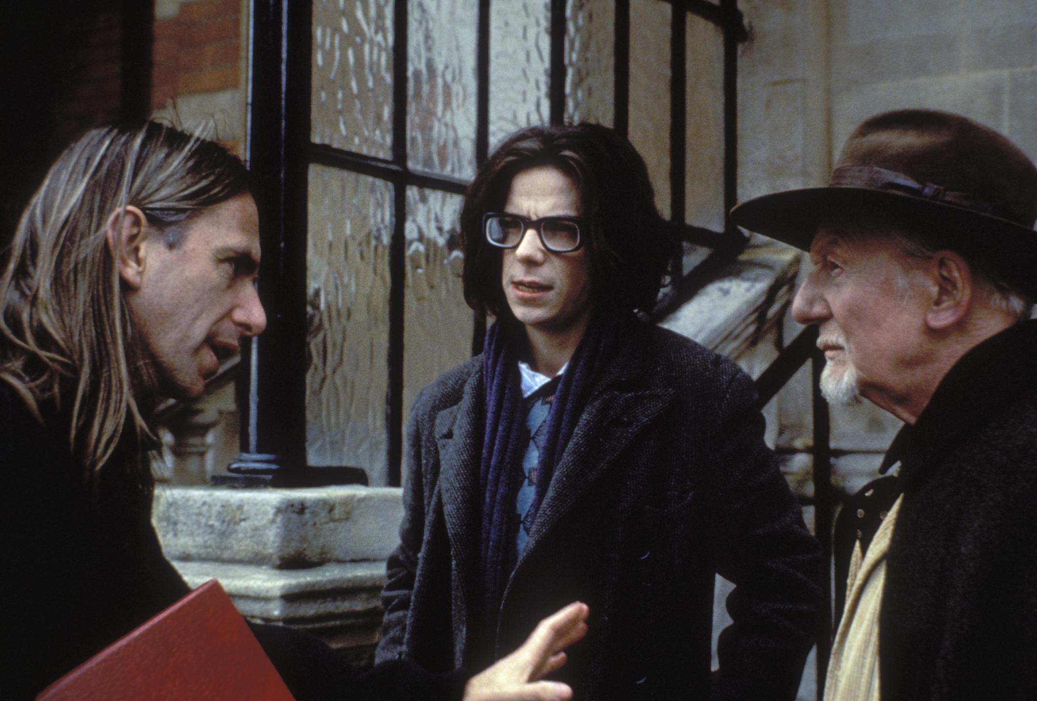 John Gielgud, Scott Hicks, and Noah Taylor in Shine (1996)