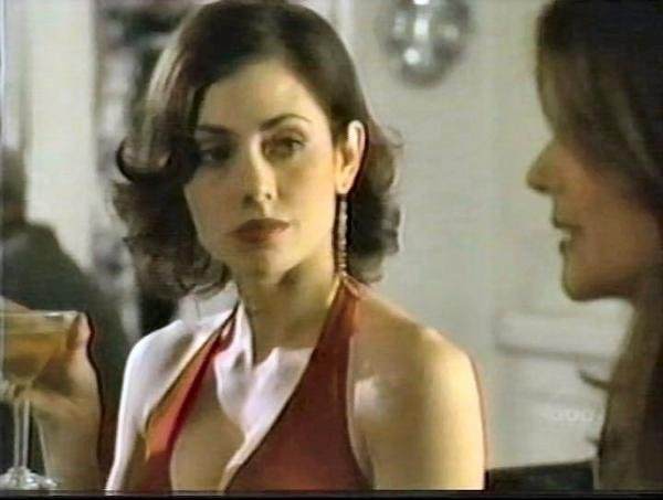 Adrienne Wilkinson and A.J. Langer in a scene from Eyes.