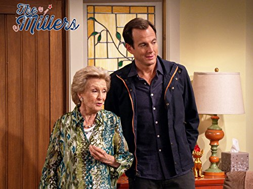 Cloris Leachman and Will Arnett in The Millers (2013)
