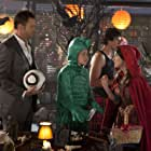Joel McHale, Alison Brie, and Gillian Jacobs in Community (2009)