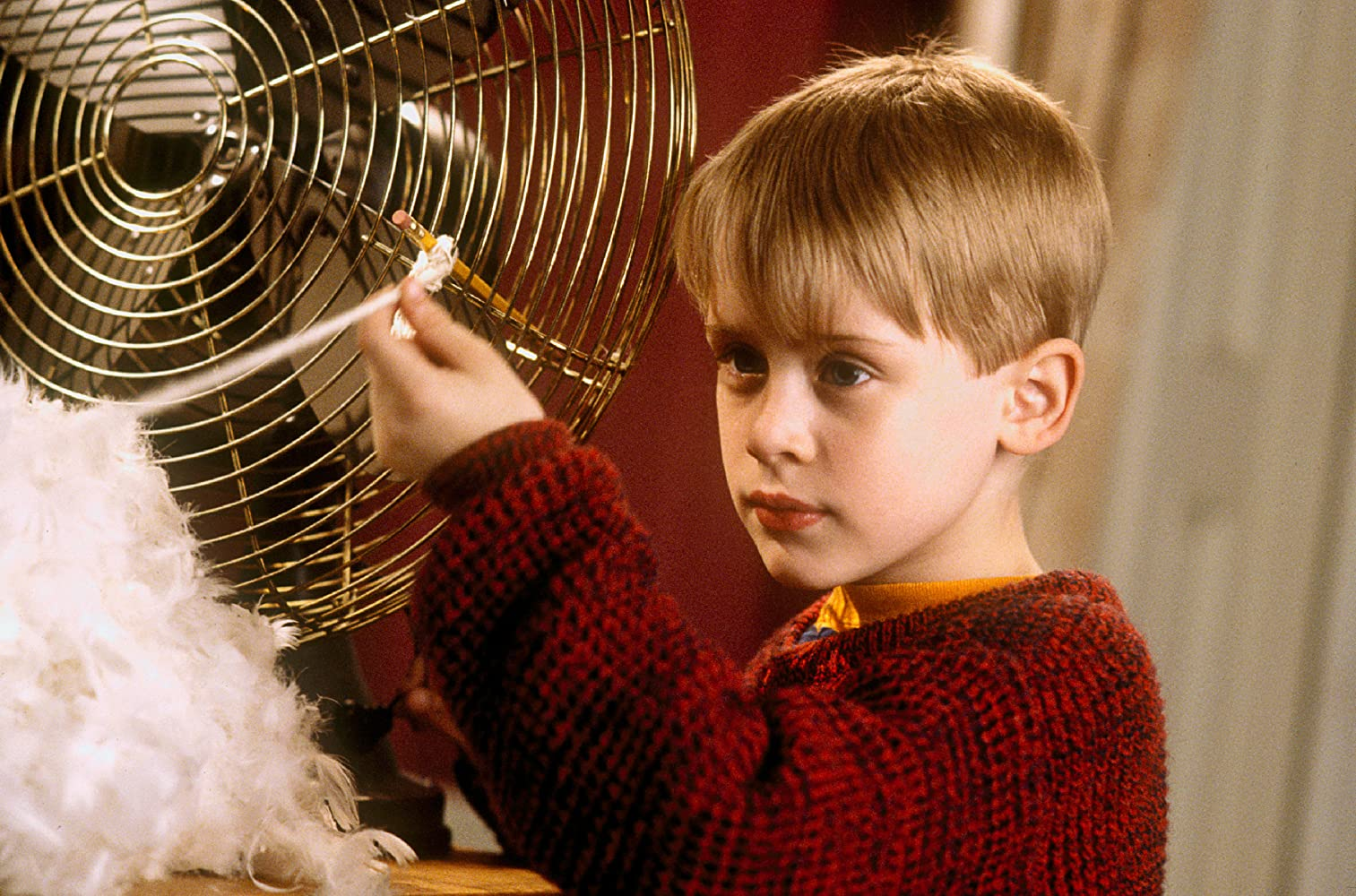 Macaulay Culkin in Home Alone (1990)