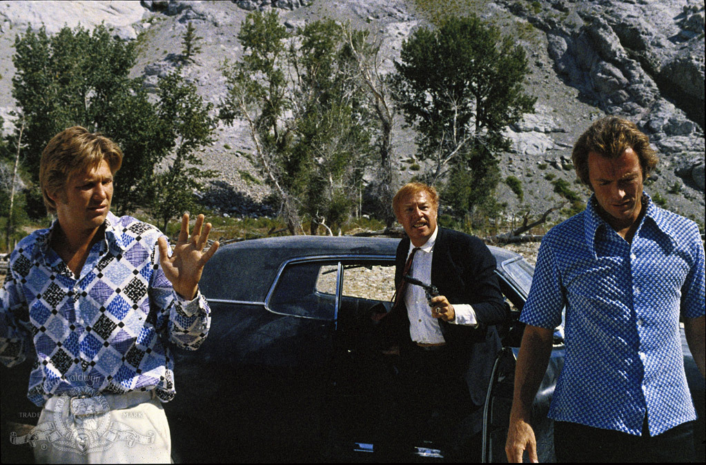 Clint Eastwood, Jeff Bridges, and George Kennedy in Thunderbolt and Lightfoot (1974)