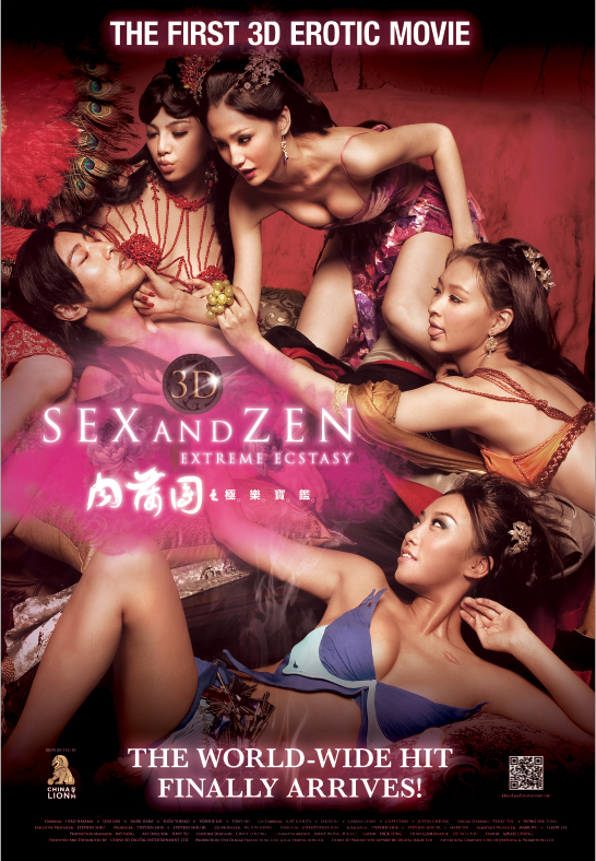 18+ 3-D Sex and Zen Extreme Ecstasy (2011) Korea 720p HDRip x264 800MB