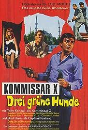 Kommissar X - Drei grüne Hunde Poster