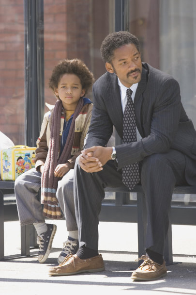 Will Smith and Jaden Smith in The Pursuit of Happyness (2006)