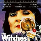 Rowan Atkinson, Anjelica Huston, Jasen Fisher, and Mai Zetterling in The Witches (1990)