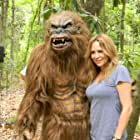 Sherrie Rose on set of Night Claws