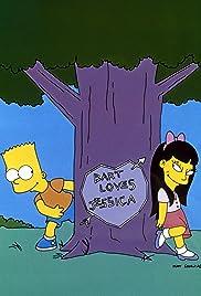 Bart's Girlfriend Poster