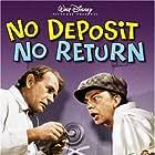 Kim Richards, Don Knotts, Darren McGavin, and Brad Savage in No Deposit No Return (1976)