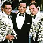 Antonio Banderas, Armand Assante, and Desi Arnaz Jr. in The Mambo Kings (1992)
