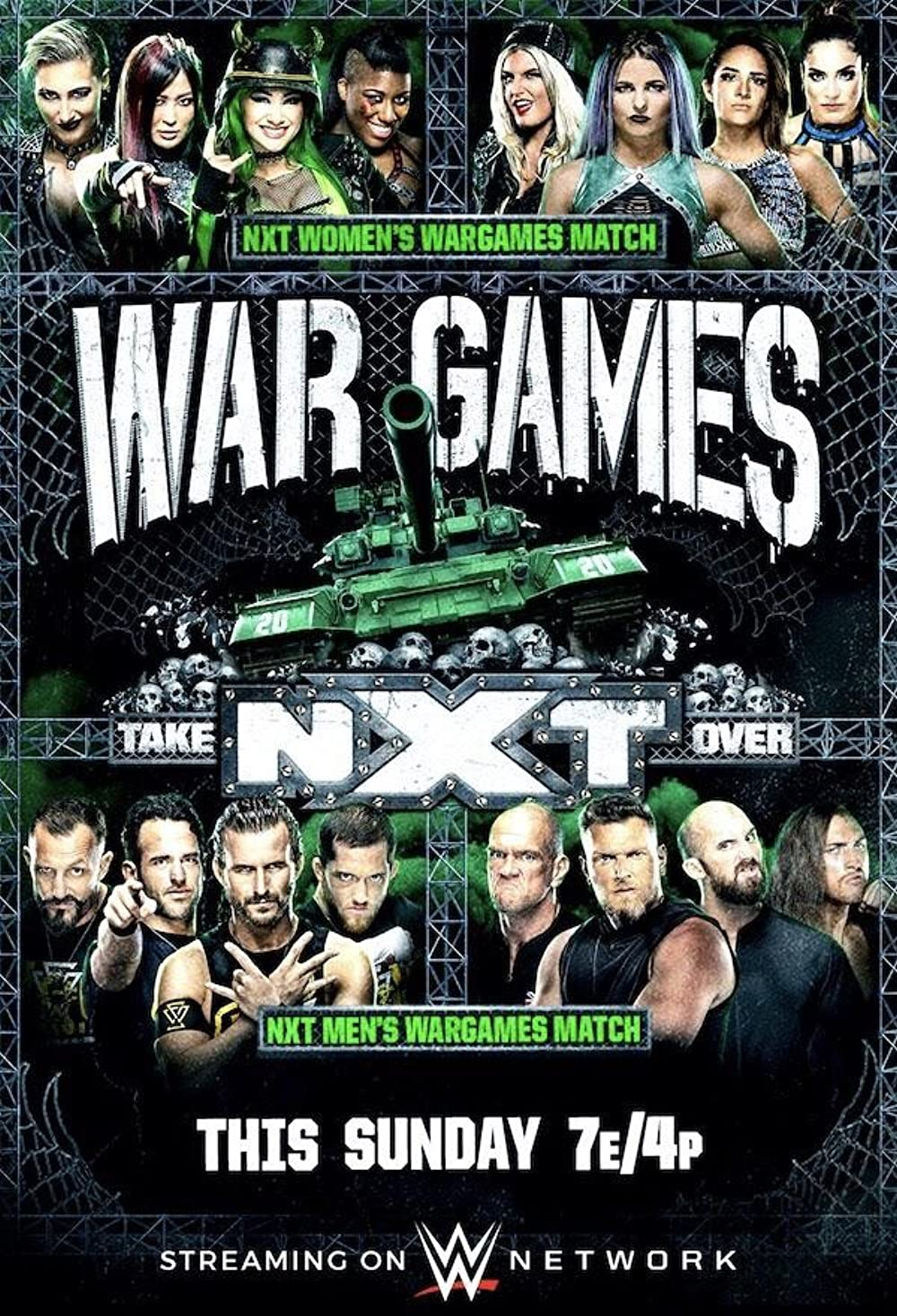 WWE NXT Takeover Wargames 2020 English 720p PPV HDRip 1.2GB | 600MB Download