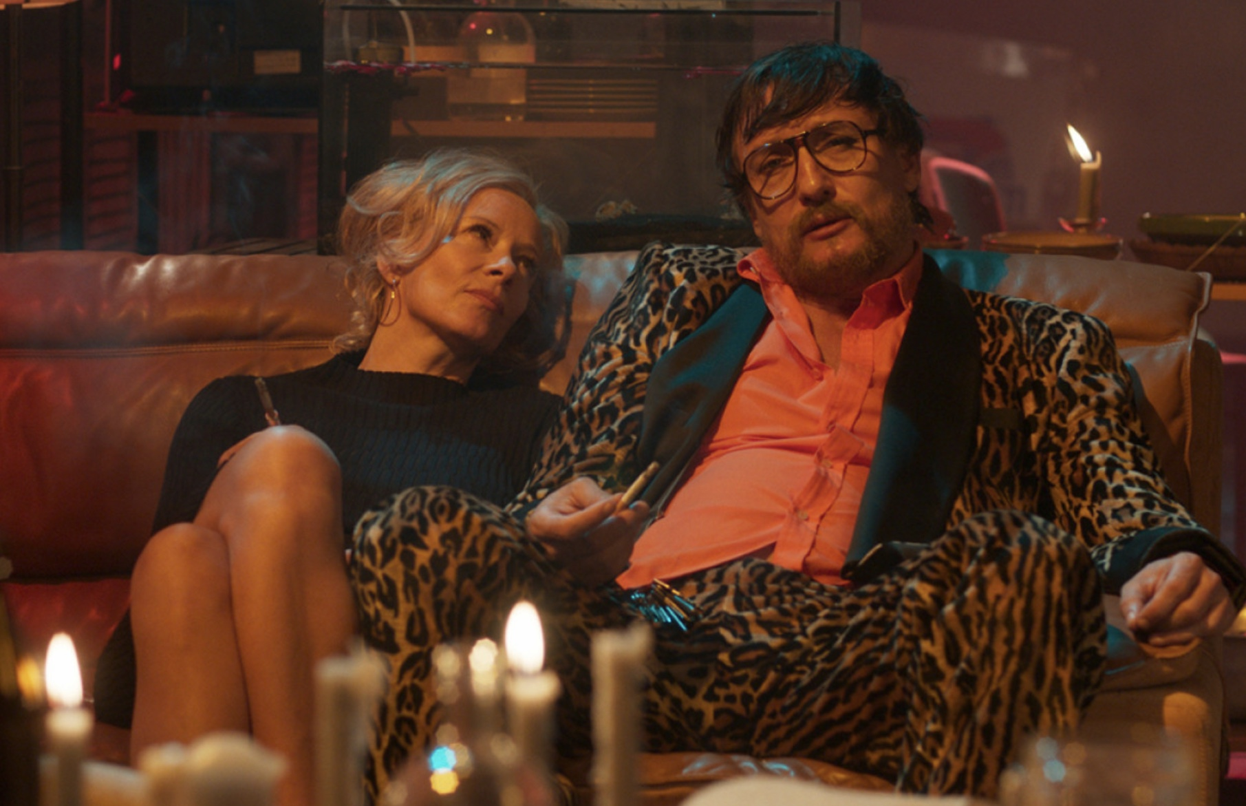 Oliver Masucci and Katja Riemann in Enfant Terrible (2020)