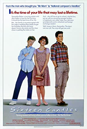 Sixteen Candles Poster Image