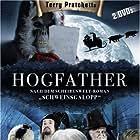 Joss Ackland, David Jason, Nigel Planer, Marc Warren, and Michelle Dockery in Hogfather (2006)