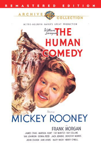 Mickey Rooney, James Craig, Marsha Hunt, and Jackie 'Butch' Jenkins in The Human Comedy (1943)