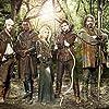 Joanne Froggatt, David Harewood, Gordon Kennedy, Sam Troughton, Joe Armstrong, and Jonas Armstrong in Robin Hood (2006)