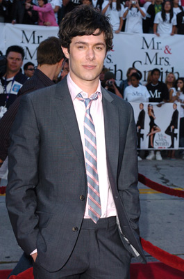 Adam Brody at an event for Mr. & Mrs. Smith (2005)