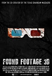 Found Footage 3D Poster