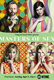 Lizzy Caplan, Michael Sheen, Caitlin FitzGerald, and Annaleigh Ashford in Masters of Sex (2013)
