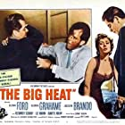 Glenn Ford, Lee Marvin, and Gloria Grahame in The Big Heat (1953)
