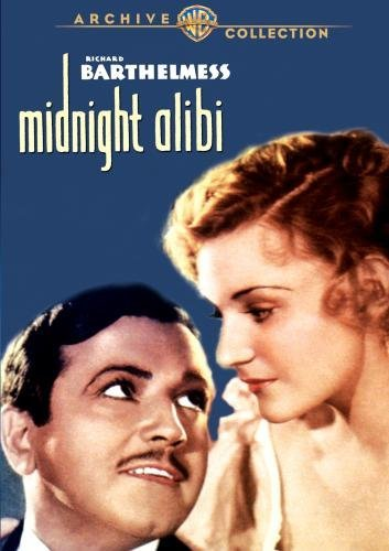 Richard Barthelmess and Helen Chandler in Midnight Alibi (1934)