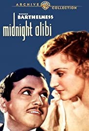 Midnight Alibi (1934) Poster - Movie Forum, Cast, Reviews