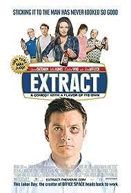 Jason Bateman, Mila Kunis, David Koechner, J.K. Simmons, Kristen Wiig, and Dustin Milligan in Extract (2009)
