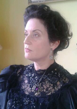 """Lady Croydon in """"Staccato"""" directed by Eoghan Peter Quinn"""