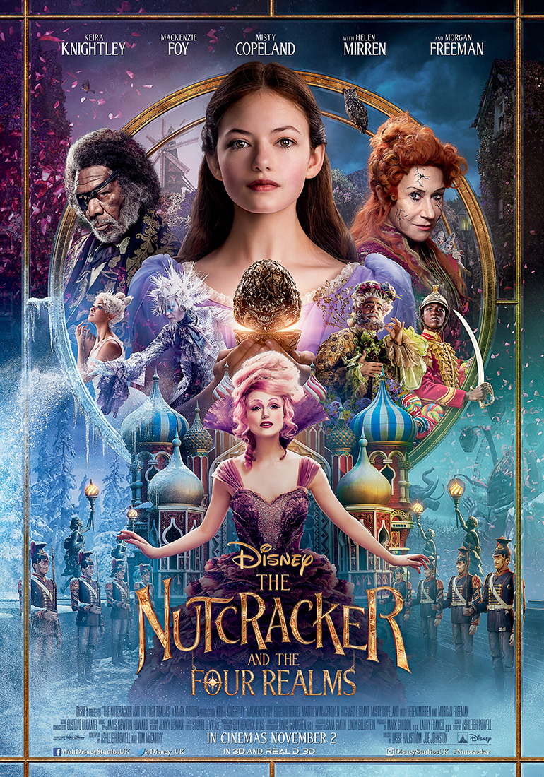 SPRAGTUKAS IR KETURIOS KARALYSTĖS (2018) / THE NUTCRACKER AND THE FOUR REALMS