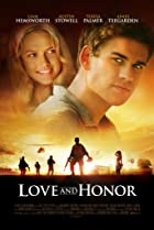 Love and Honor (2013) Poster