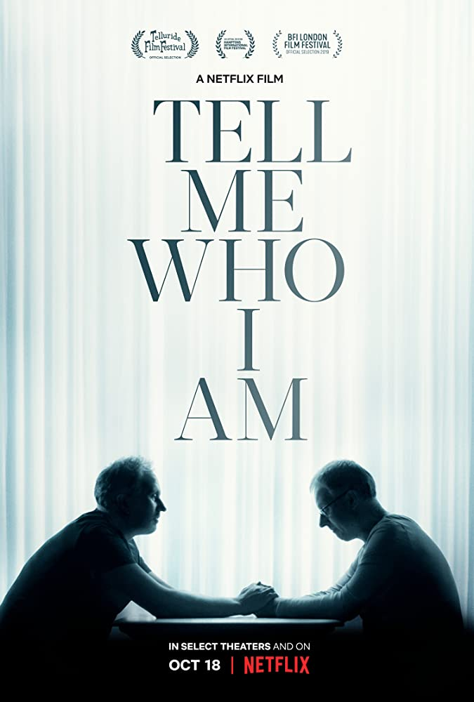 View Tell Me Who I Am (2019) Movie poster on Ganool