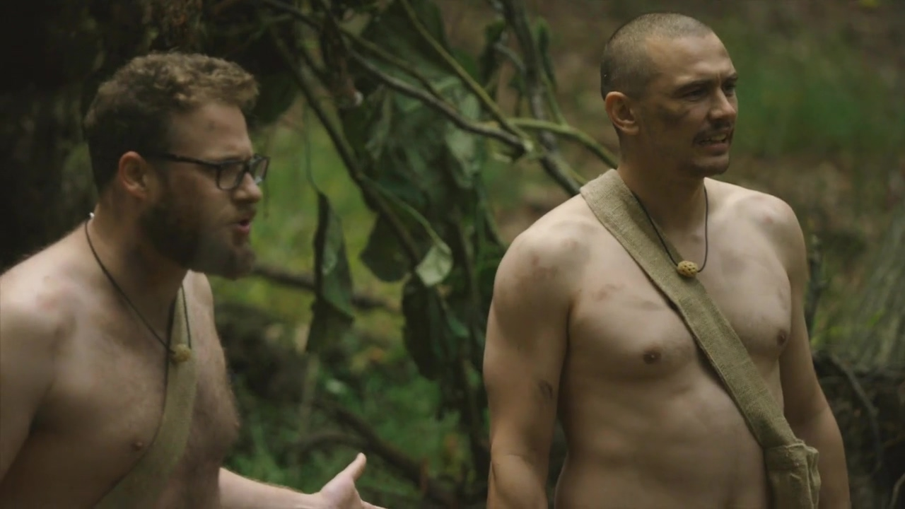 Watch James Franco And Seth Rogen Get Naked And Afraid