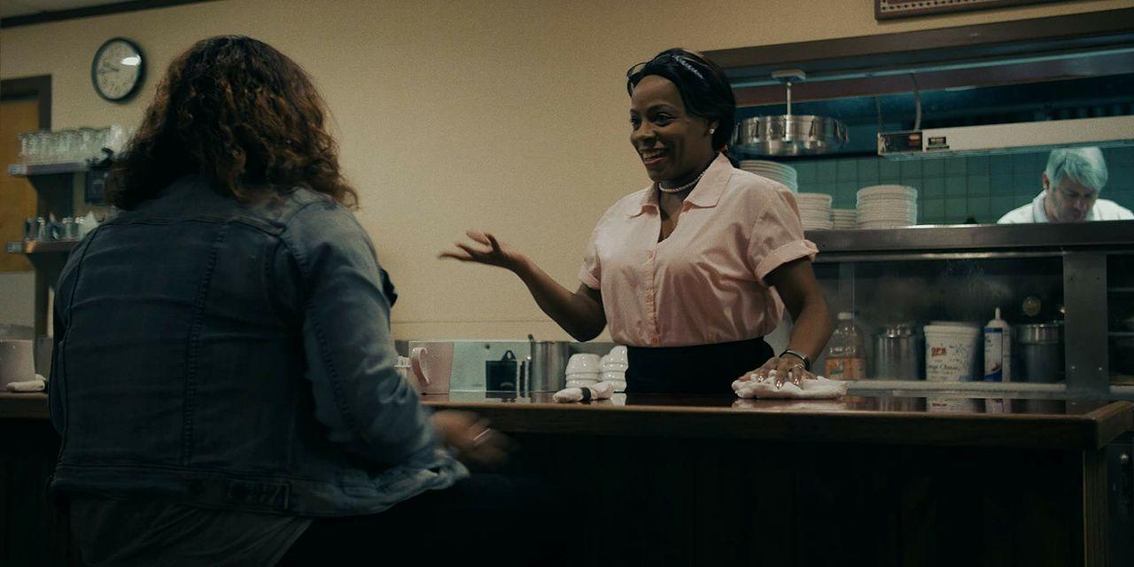 Screengrab of Anita Nicole Brown as Millie in Little Things