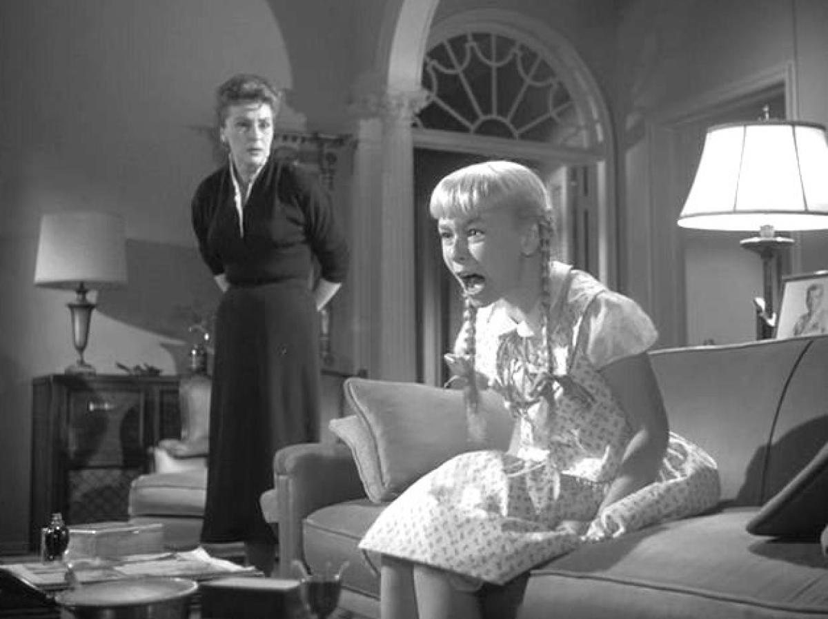 Nancy Kelly and Patty McCormack in The Bad Seed (1956)
