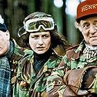 Susannah Doyle, Jeff Rawle, and David Swift in Drop the Dead Donkey (1990)