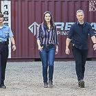 Gary Sinise, Sofia Milos, and Alana De La Garza in Criminal Minds: Beyond Borders (2016)