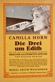 Camilla Horn and Erich Waschneck in Die Drei um Edith (1929)