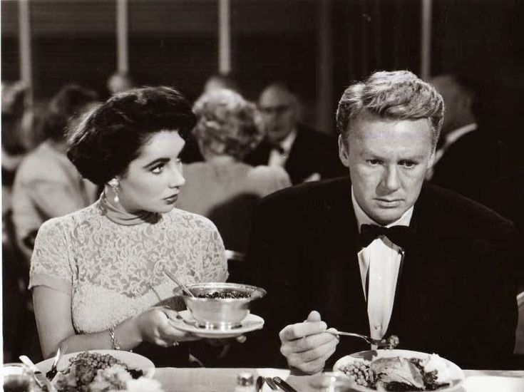 Elizabeth Taylor and Van Johnson in The Big Hangover (1950)